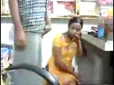 Indian Maid Secretly Having Sex in store-room